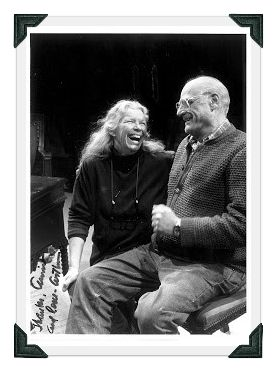 Annie Keefe and Arthur Miller. (Photo/T. Charles Erickson)
