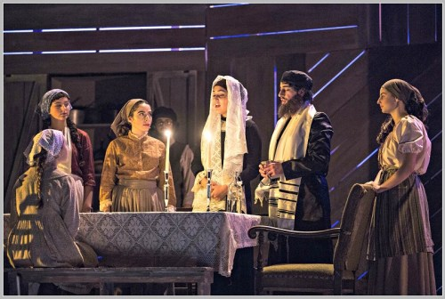 "The staging, acting, choreography and sets of ""Fiddler on the Roof"" is spectacular -- as Staples Players shows always are. (Photo/Kerry Long)"