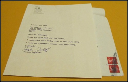 Gordon Joseloff letter