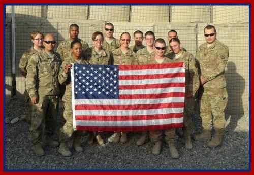 Michael Murphy's platoon in Kandahar, Afghanistan.