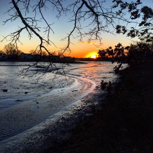 Gray's Creek sunset. (Photos/Betsy P. Kahn)
