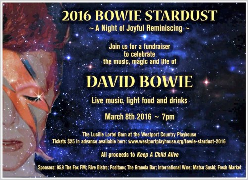 David Bowie at Westport Playhouse
