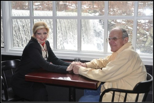 Drew Friedman and his wife Laura Papallo Friedman, at Cobb's Mill Inn. (Photo/Patricia Gay)