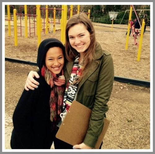 Katterine and Olivia Allen.