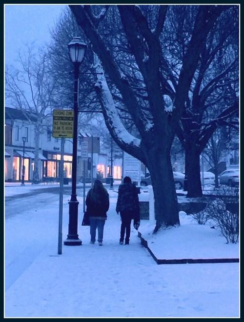 Main Street pedestrians - February 15, 2016 - Lynn U Miller