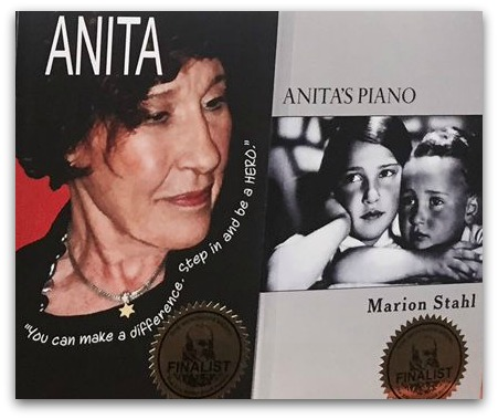 Two books about Anita Schorr, both by Marion Stahl.
