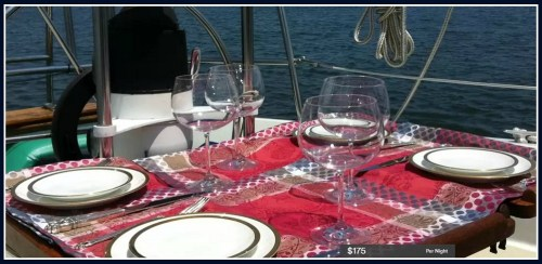 """Not all Airbnb properties are on land. This offer is for a """"sailing yacht."""""""