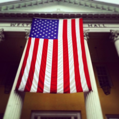 Memorial Day - Town Hall flag - 2016