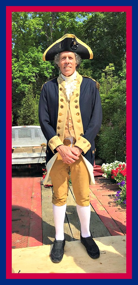 Yankee Doodle, aka Miggs Burroughs.