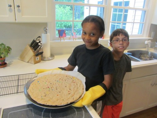 Fresh Air Fund - baking cookie