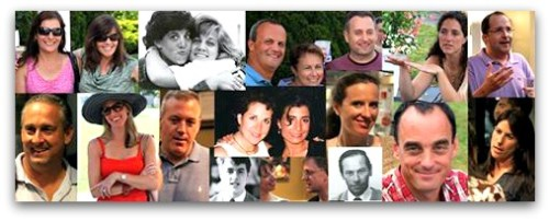 Facebook's header montage for the Staples Class of 1986 page.