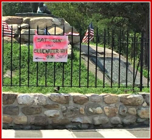 Minuteman sign