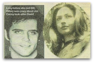 David Rupert and Hillary Clinton, while they were dating.