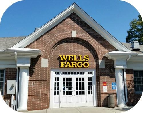 The Wells Fargo Westport branch.