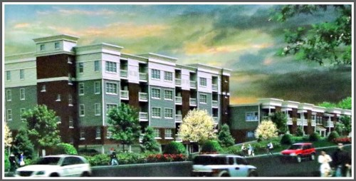 The redesigned 4-story 1177 Post Road East rental property.