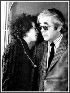 Bob Dylan and Albert Grossman.