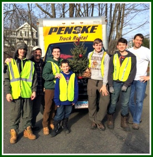 Boy Scout Troop 39 to the rescue!