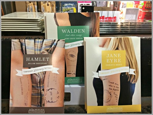 """""""Literary tattoos,"""" created by a pair of Staples grad brothers..."""