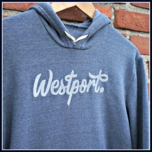 Ted and Stephanie's Westport hoodie.