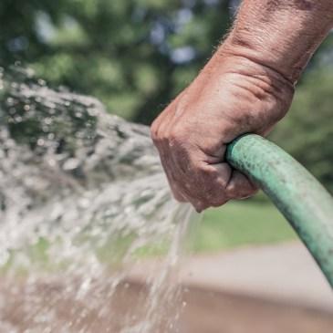 Water shortage in the garden?