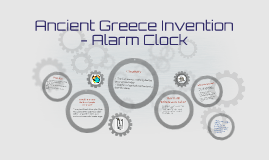 Ancient Greece Invention Alarm Clock