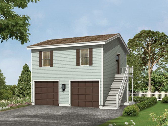 Kalinda Garage Apartment Plan 002d 7528