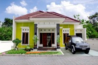 Kombinasi Warna Hijau atau Biru untuk Rumah Minimalis