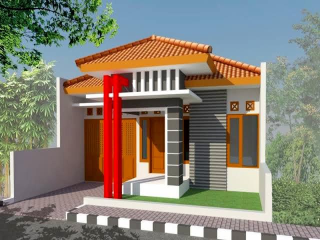 Model rumah type 21 minimalis