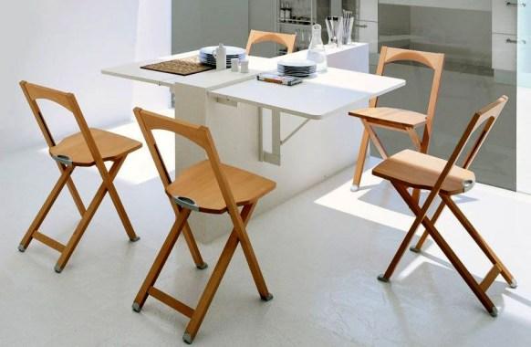 Model Meja Dapur Lipat Sederhana Modern
