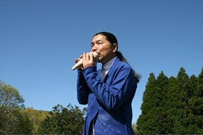 オカリナ奏者宗次郎