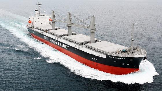 積貨物船ジュール ガルニエ2