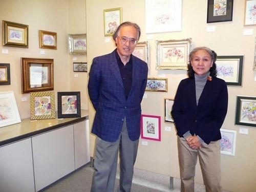 奥中清三さん、阿部純子さん