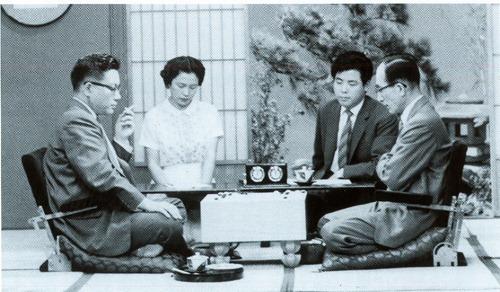 テレビ初放送のプロ・アマ本因坊戦左が因島出身村上文祥氏