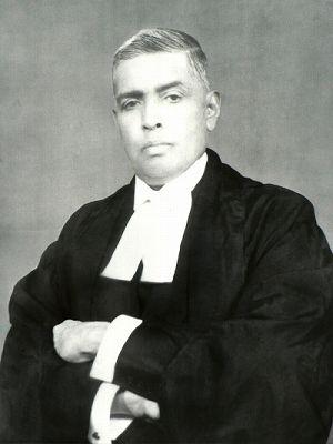 極東国際軍事裁判ラダ・ビノード・パール判事(インド)