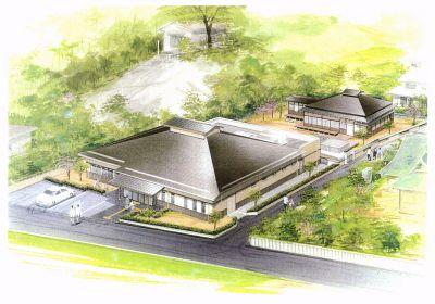 「本因坊秀策記念館」完成予定図