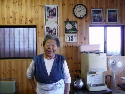一福屋食堂の酒井福枝さん