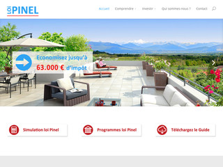 Loi Pinel : simulation investissement immobilier