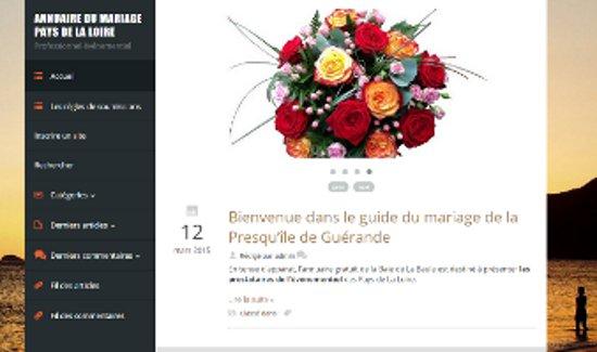 Parfumdefleurs – Partagez vos talents dans l'annuaire thématique mariage des Pays de La Loire