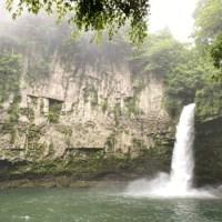五ヶ瀬のうのこの滝がすごかったです。五ヶ瀬にきたら一度はいっていみたいスポット