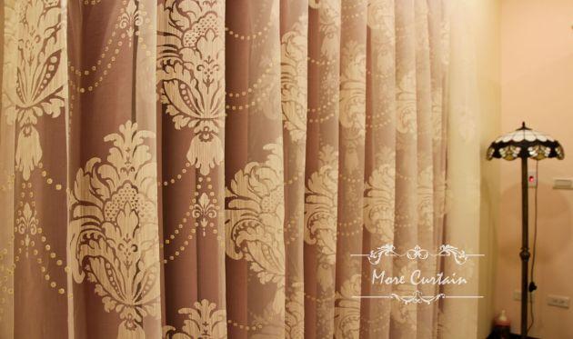 宮廷風窗簾