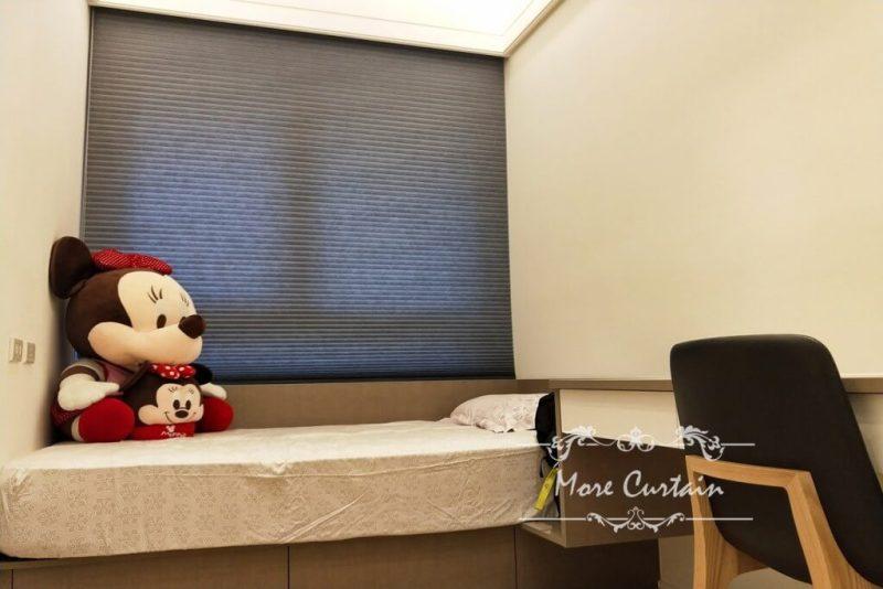 節能降溫 雙蜂巢設計Hunter Douglas風琴簾材質 新竹 頭份 竹南 苗栗 台中窗簾推薦