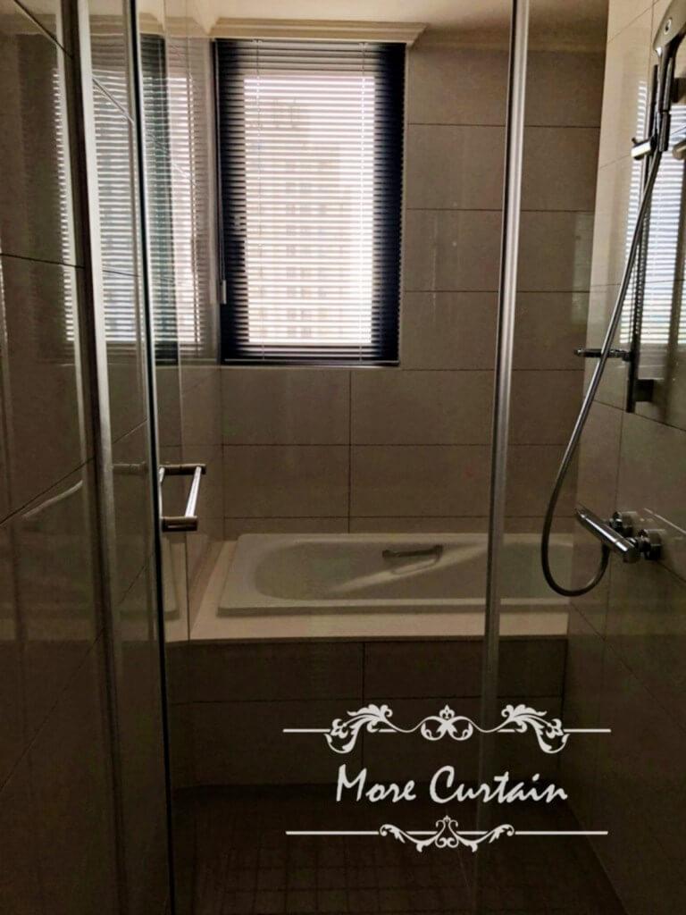 苗栗窗簾推薦,浴室防潮防霉,浴室用鋁百葉
