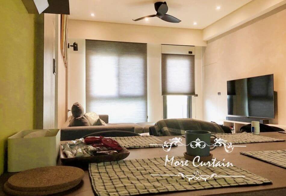 新家窗簾規劃案例 窗簾設計找沐爾 頭份窗簾推薦店