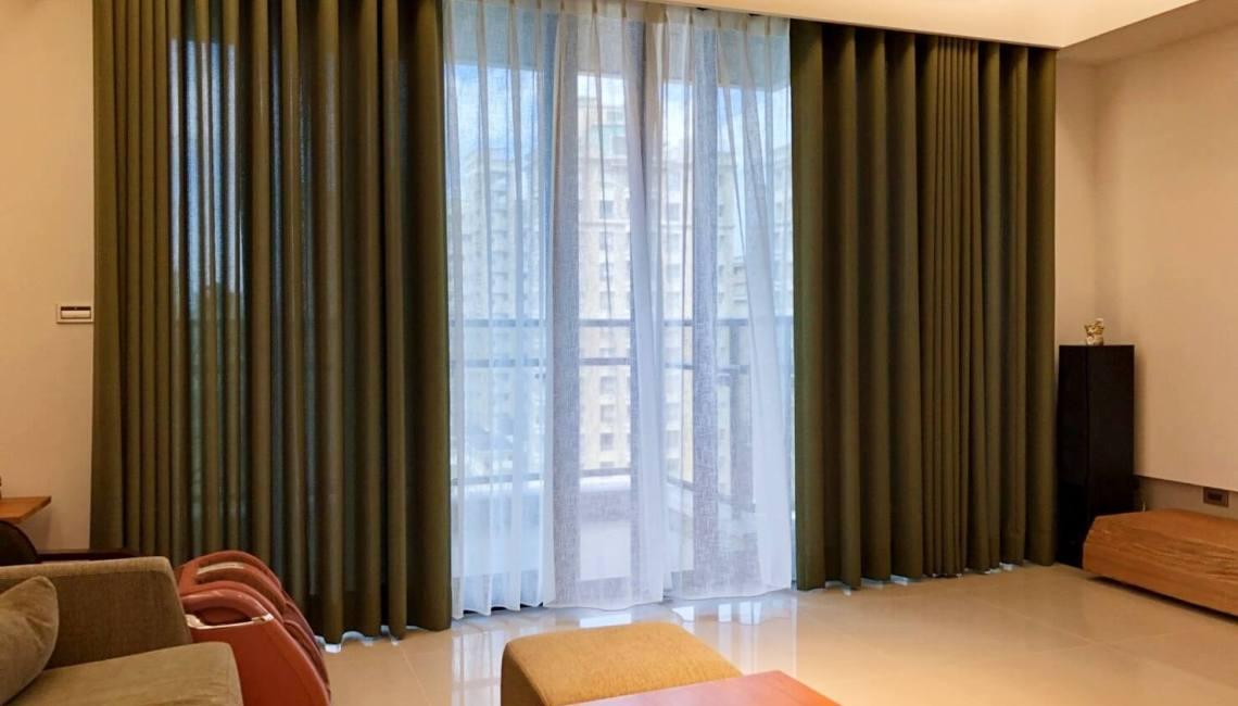 [三明治窗簾,遮光降溫效果好,CP值很高]窗簾設計少不了!!