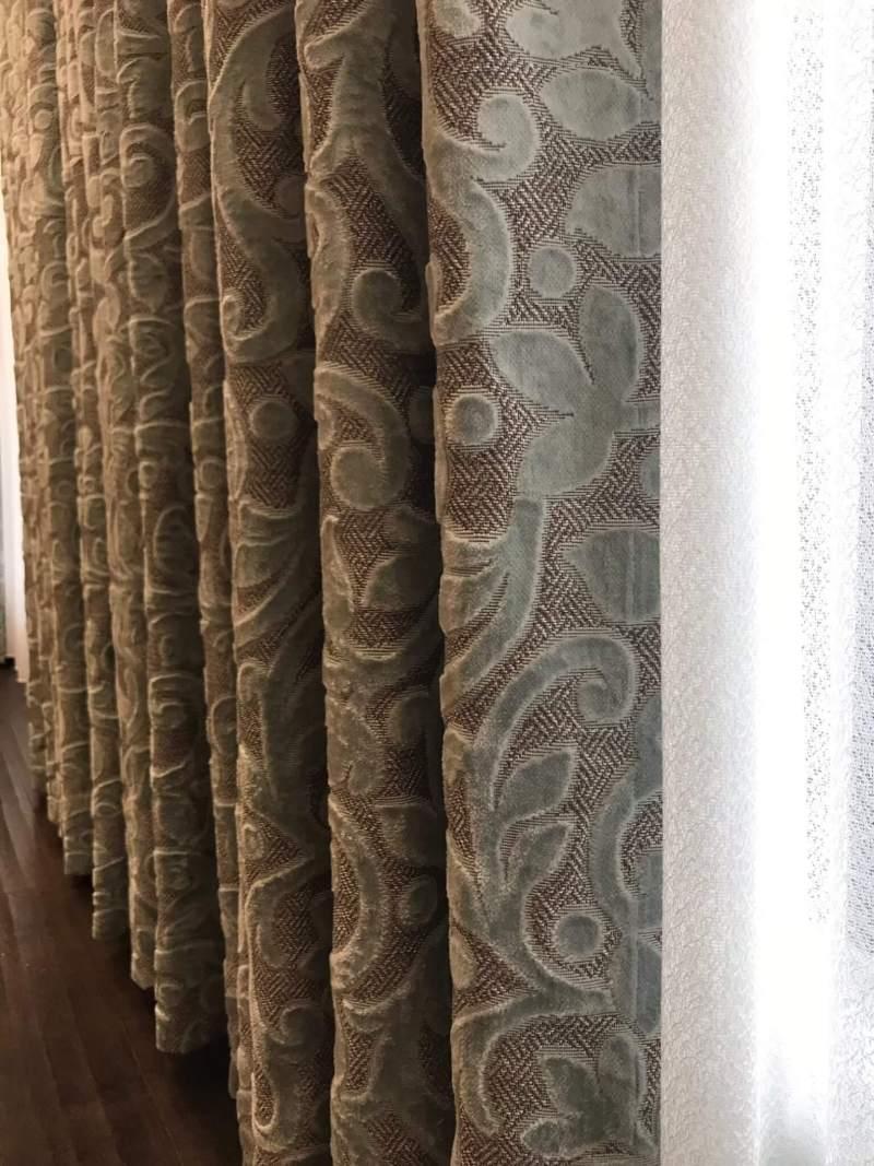 大馬士革圖騰窗簾