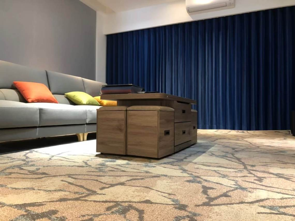 蛇簾 客廳窗簾設計