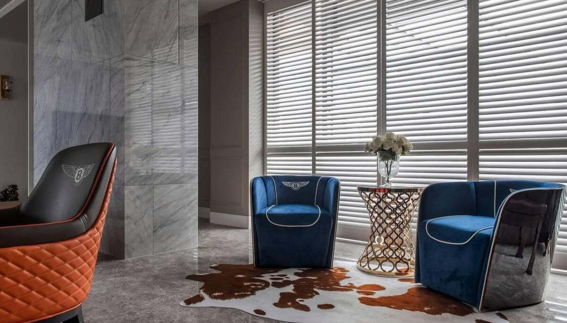 北歐風格 窗簾設計