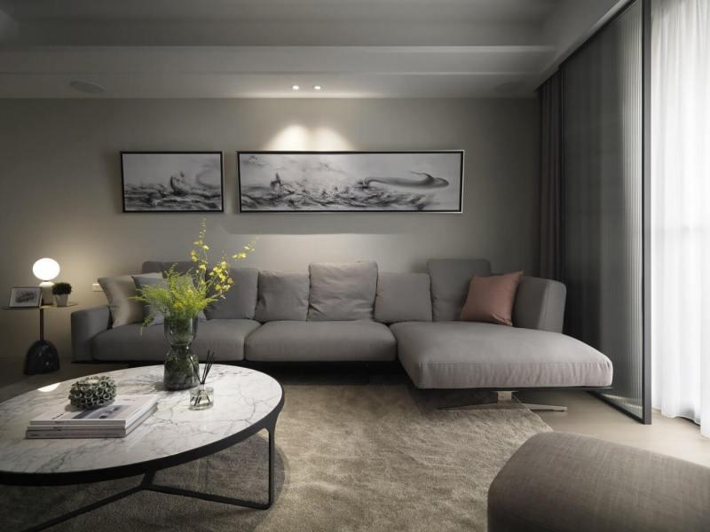 北歐風格設計 新竹窗簾設計案例
