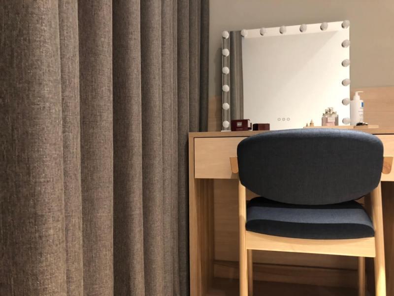 完全遮光窗簾 臥室窗簾設計 台中市 北屯區 窗簾推薦 蛇簾精選案例
