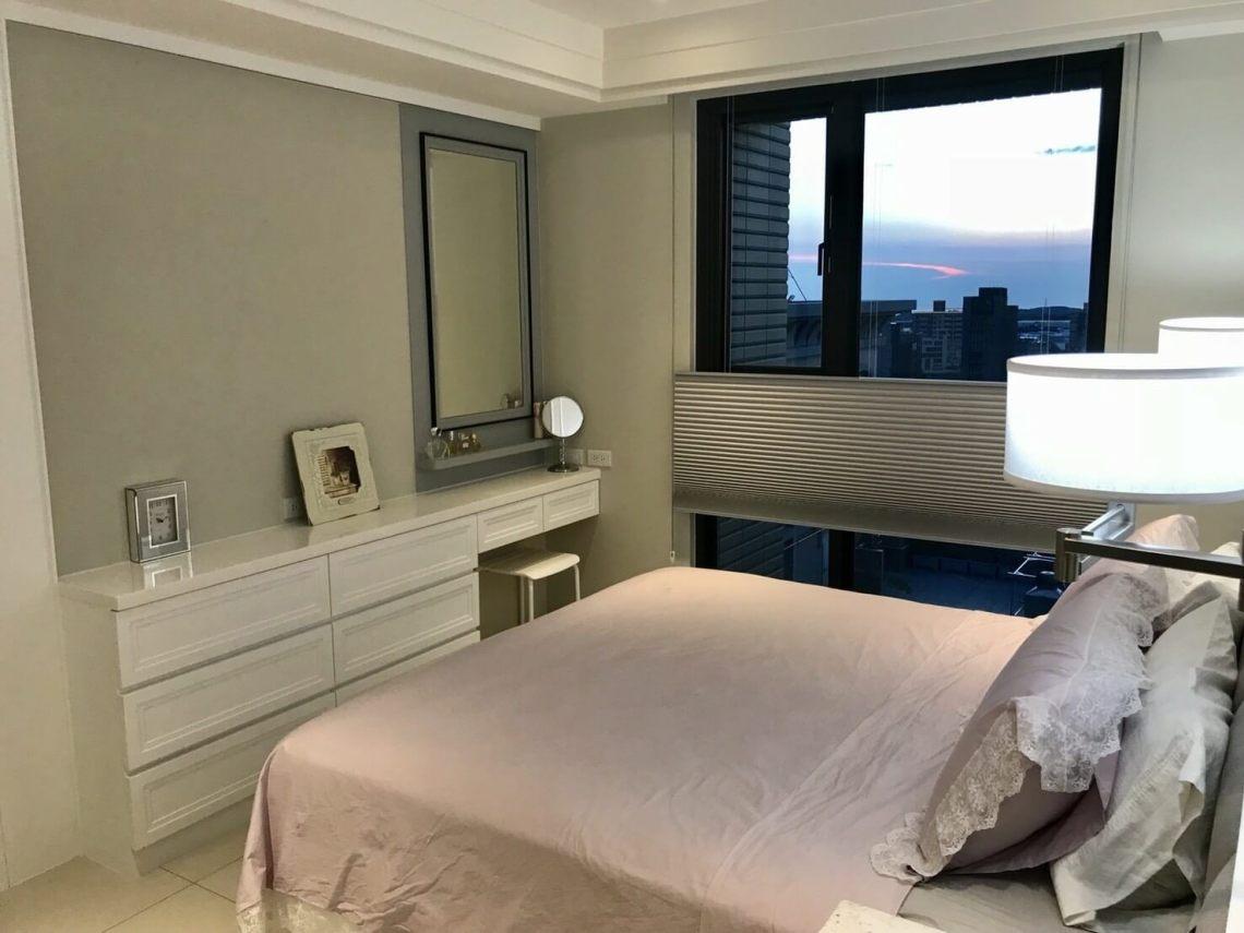 房間 臥室窗簾 HunterDouglas風琴簾 遮光 防曬 降溫 抗敏